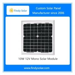 10W 12V Mono Solar Panel