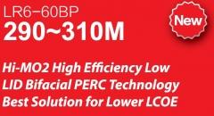 LR6-60BP Bifacial PERC