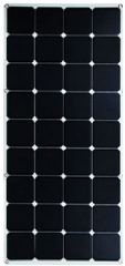 THS-SF100W 1050*550*3mm semi flexible solar  panel 100