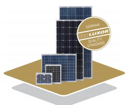 Luxor Solar Solo Line P36 10 160w Solar Panel Datasheet Enf Panel Directory