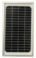 12V 4W Single crystalline Solar Panel