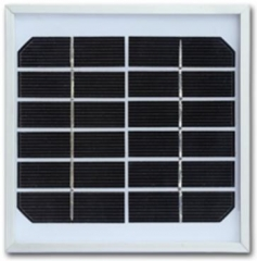 6 Volts Solar Panel, 2 Watts