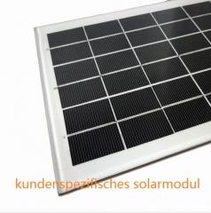 kundenspezifisches Solarmodul