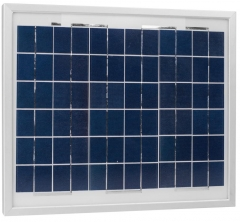 10W Multi-Crystalline Solar Panel