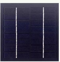 8V solar panel, 1.7 watts 1.7