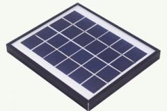 6V solar panel, 2.4 watts 2.4