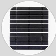 Round solar panel 4.8