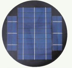 round solar panel, 7v, 7w 7
