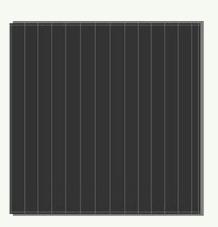 A-si solar cell, 7V 0.665