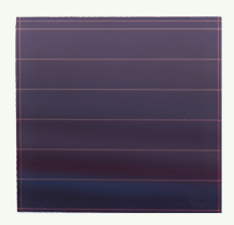 Thin film solar cell, 3.3v 0.132