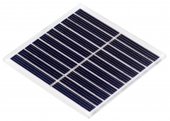 1Watt solar panel with glass