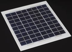 7W 12V solar panel