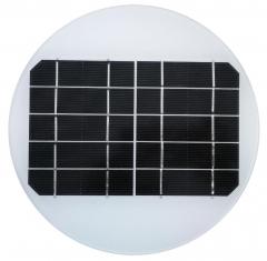 panneau solaire rond 2.7