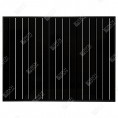 RICH SOLAR 50 Watt 12 Volt Monocrystalline All Black Solar Panel 50