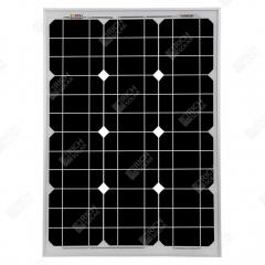 RICH SOLAR 50 Watt 12 Volt Monocrystalline Solar Panel