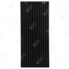 RICH SOLAR 100 Watt 12 Volt Monocrystalline Solar Panel All Black 100