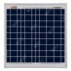 RICH SOLAR 15 Watt 12 Volt Polycrystalline Solar Panel