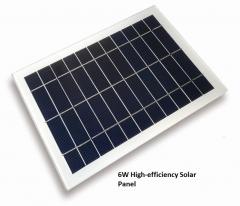 Panel solar de alta eficiencia 6w
