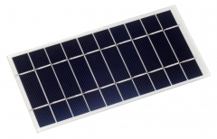 5V solar panel in low-light use