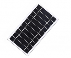 1.6W solar panel with 20% efficiency