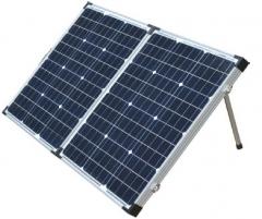 100W Portable Folding Solar Panel 100