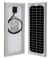 RICH SOLAR 10 Watt 12 Volt Monocrystalline Solar Panel
