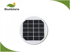 5V 1.5W Round Solar panel for lighting 1.5