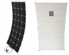 1050*550*3mm 110W high efficiency sunpower semiflexible solar panel