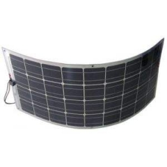 wires from backside 1050*540*3mm 100w mono 125mm solar cell making semiflexible solar pane