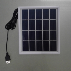 customized design mini size solar panel 183*183mm glass laminate 3W solar panel
