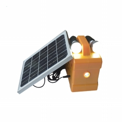 portable solar mini lighting with USB, radoi function