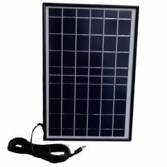 folding stand poly mini size 10W 6V solar panel