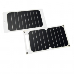 portable solar panel charger 5W/5V with usb interface