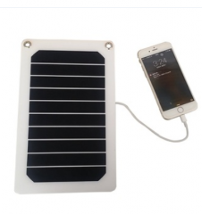 5.3W5v ETFE portable solar panel charger outdoor charging