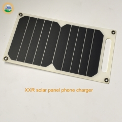 solar cell phone charger 6.5W/5.5V