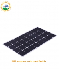 110W 32 cells high efficiency sunpower solar panel flexible