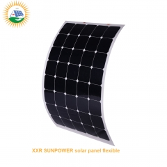 160w 44cells sunpower solar panel flexible