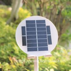 Round 5V 1W Solar Panel