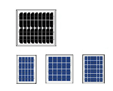 3-10Wp Mini Solar Panels