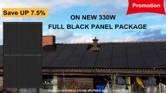 (5BB)315-335W 60 Cells Full Black Solar Module