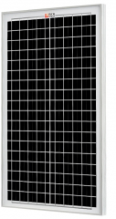 RICH SOLAR 30 Watt Monocrystalline Solar Panel