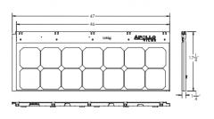 APOLLO® TILE II – 70x
