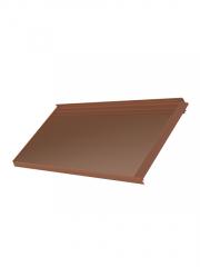Solar tile M45-10 Terracotta