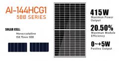 AI-144HCG1-390-415 5BB
