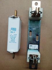 original SIBA fuse DC1000V/100A and fuse base