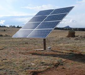Single Pile Solar Mounting System
