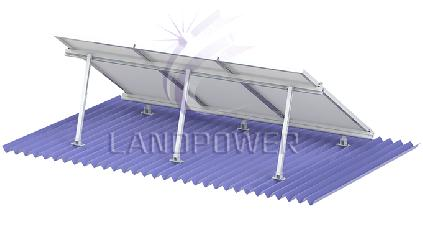 Adjustable Angle Flat Roof Solar Mounting Systems
