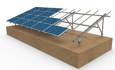 Chiko Solar Ground Mount V Structure Solar Mounting