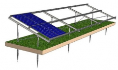 Ground Screw Solar Mounts