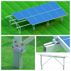 C-sharp Ground mounting system